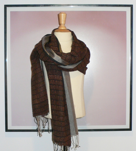 past collections-scarves  dark & stormy