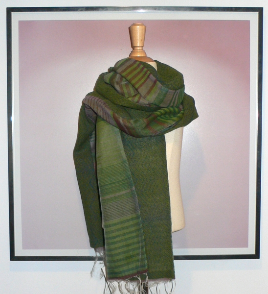past collections-scarves  green sleeves