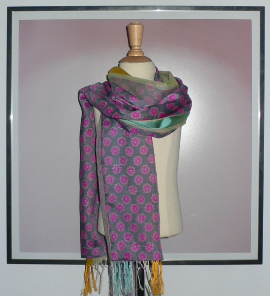 past collections-scarves  isle of skye