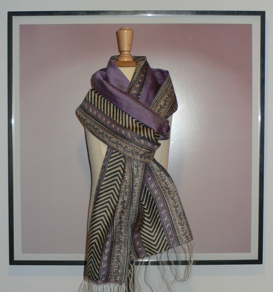 past collections-scarves  lilac highway