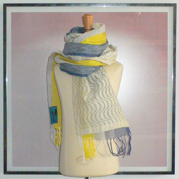 past collections-scarves  radio taxi