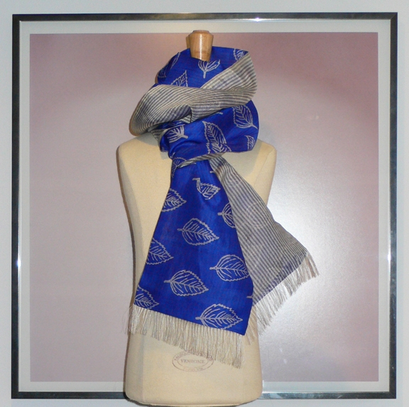 past collections-scarves  blue mountain