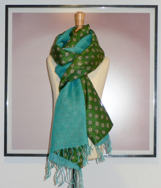 past collections-scarves  field of dreams