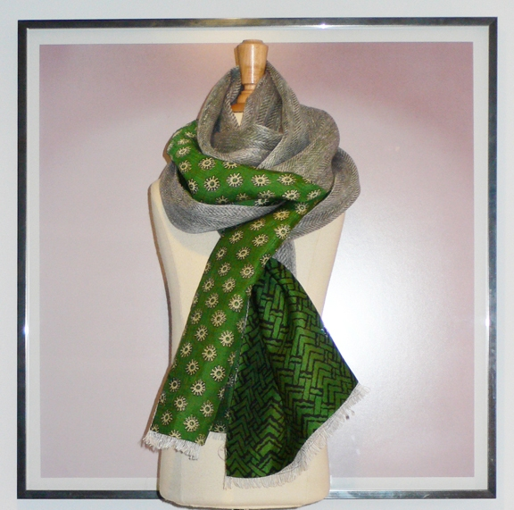 past collections-scarves  gardens in stone