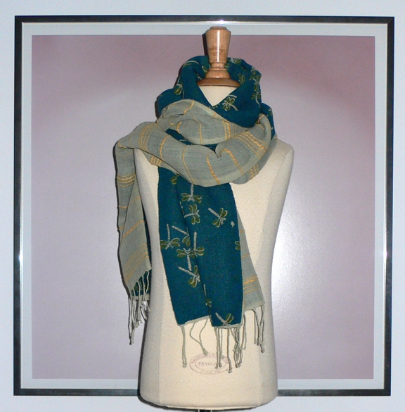 past collections-scarves  light flys