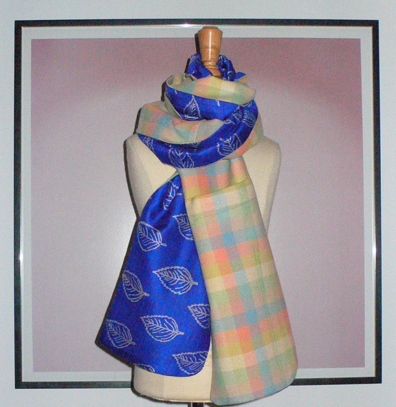 past collections-scarves  blaze of glory