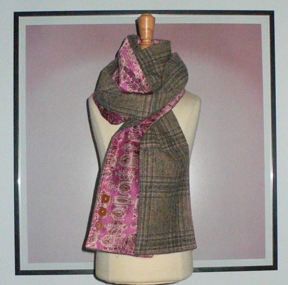 past collections-scarves  burrberry curry