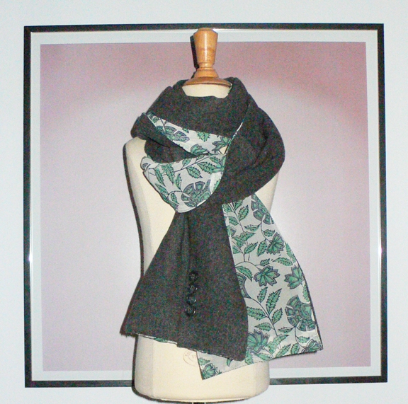 past collections-scarves  grey gardens