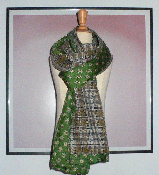 past collections-scarves  scotland yard