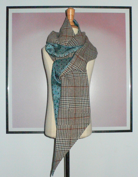 past collections-scarves  sherlock shine