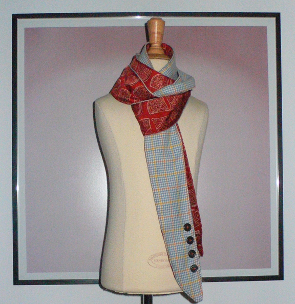 past collections-scarves  skinny pete