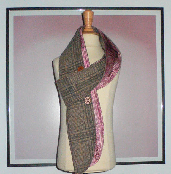 past collections-scarves  pinkie malone