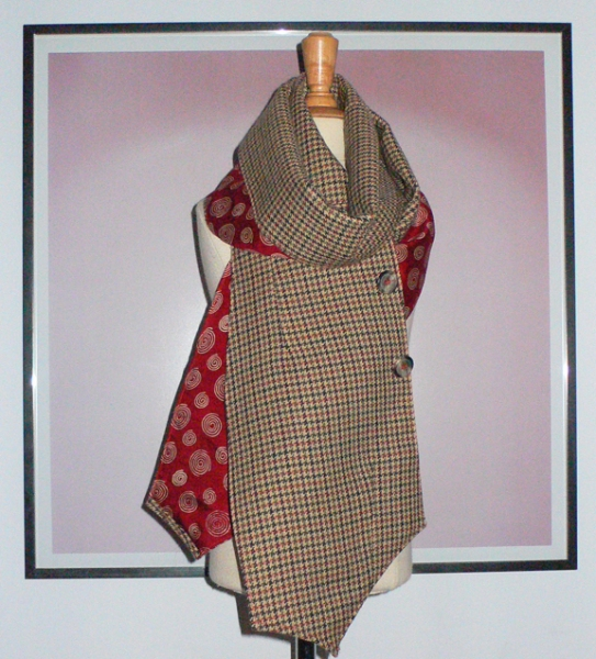 past collections-scarves  waist not coat