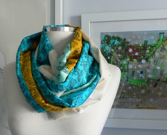 past collections-scarves  le loop menagerie