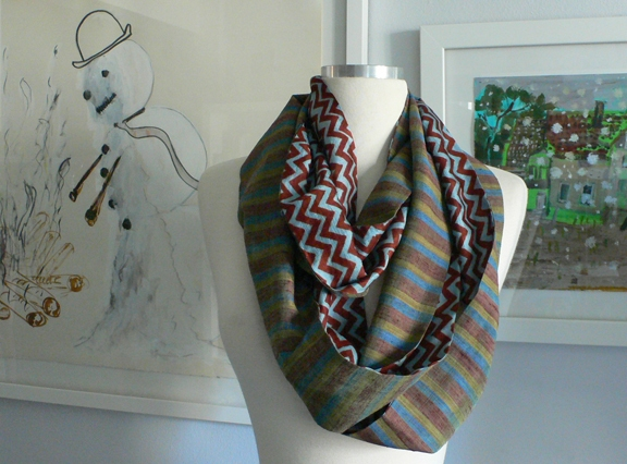 past collections-scarves  le loop messieurs