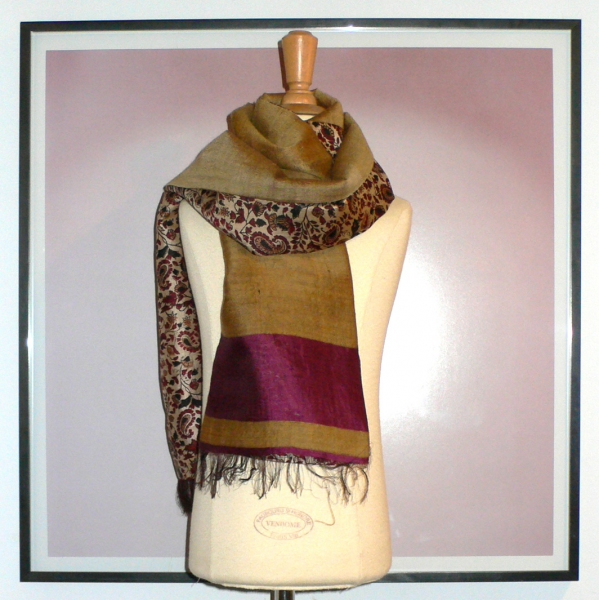 past collections-scarves  brown sugar & spice