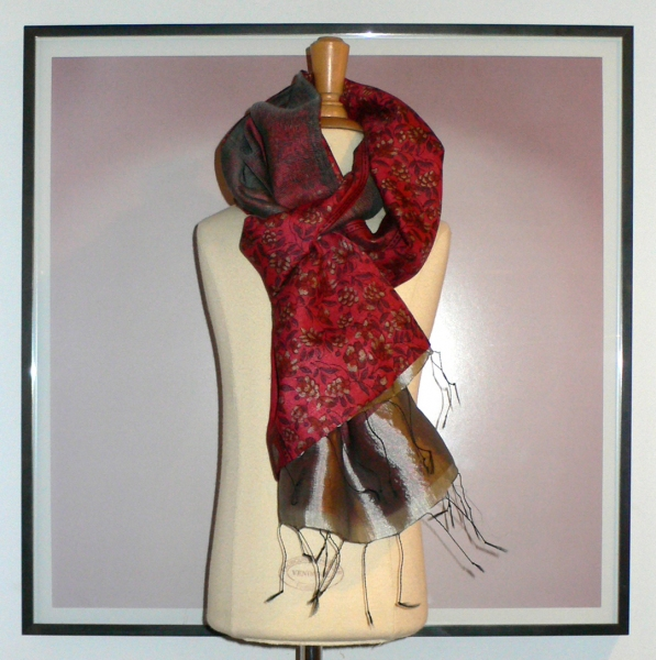 past collections-scarves  love lace