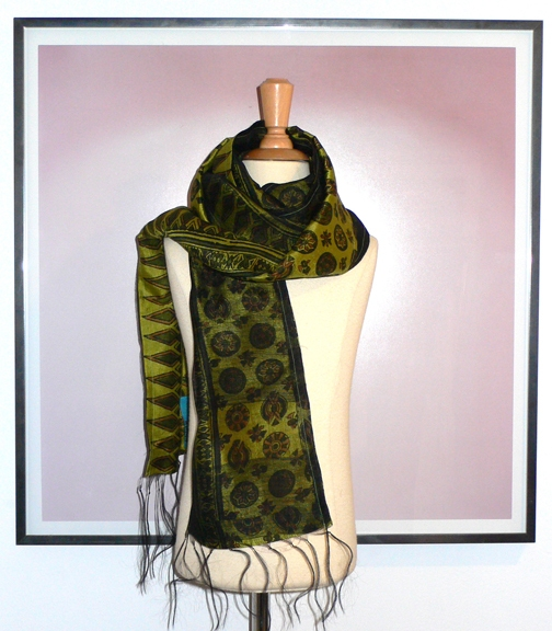 past collections-scarves  all that glitters
