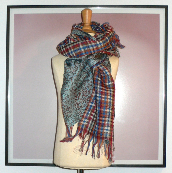 past collections-scarves  on your mark