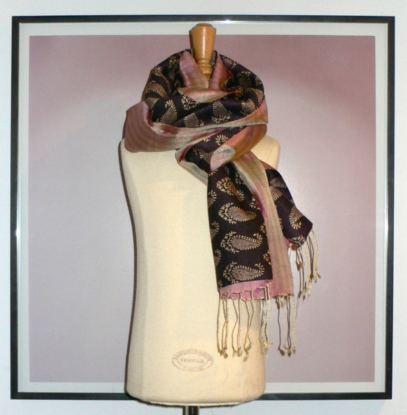 past collections-scarves  palace pink