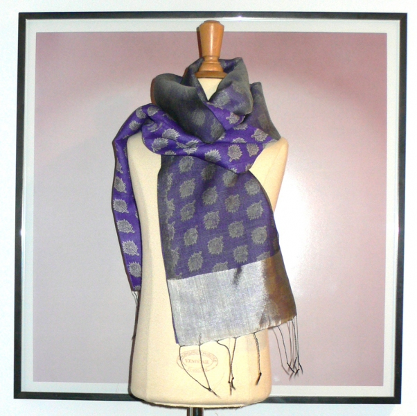 past collections-scarves  purple passion