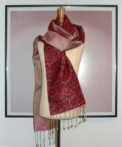 past collections-scarves  red riding good