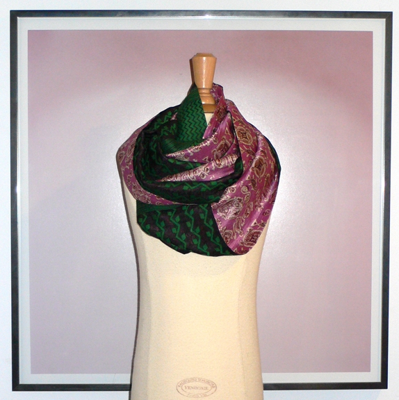 past collections-scarves  le loop partie de jardin