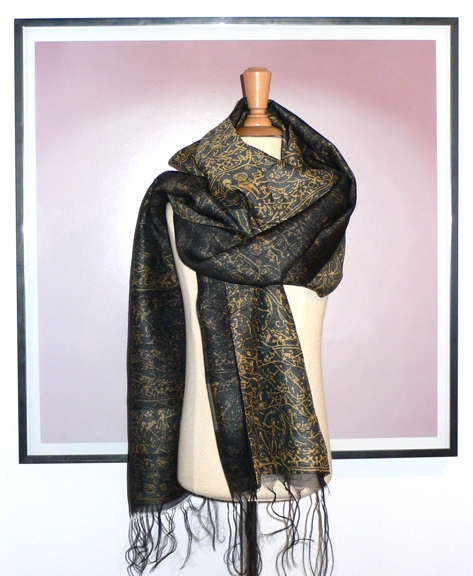past collections-scarves  arcus bow