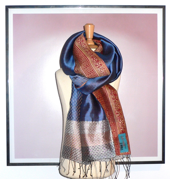 past collections-scarves  key to happiness