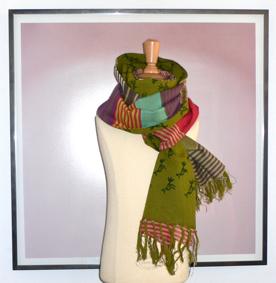 past collections-scarves  beep beep