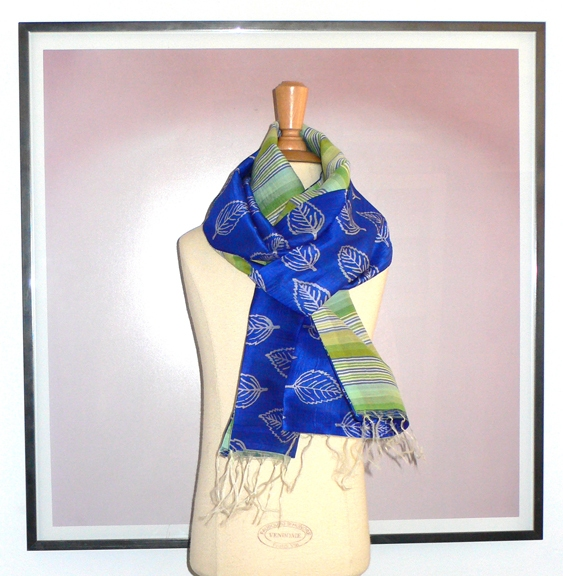 past collections-scarves  deep sea