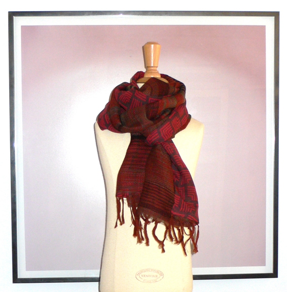past collections-scarves  fire & light