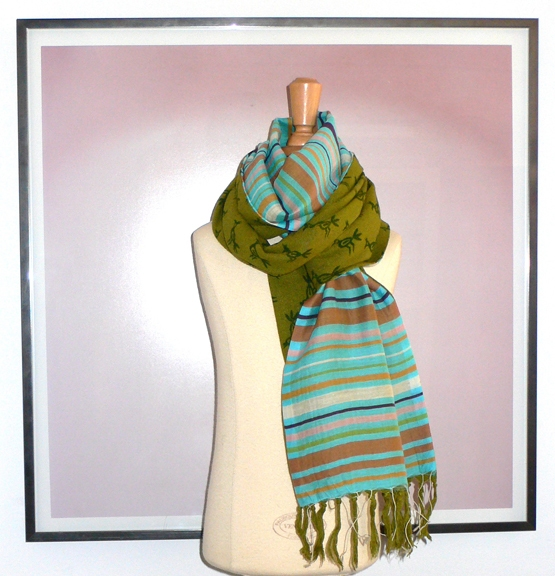 past collections-scarves  road runner