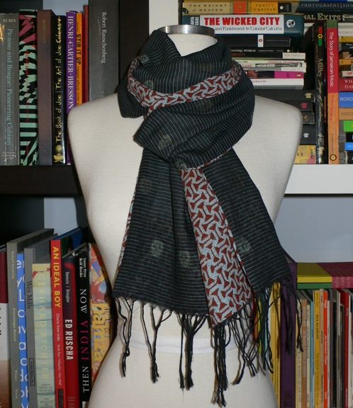 past collections-scarves  dark night
