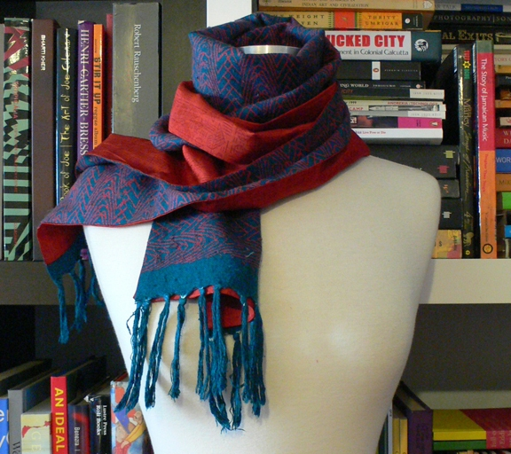 past collections-scarves  ride the wire