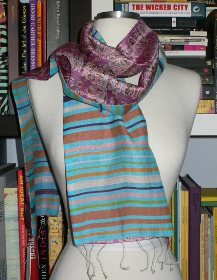 past collections-scarves  sky light sky bright
