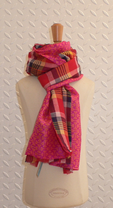 past collections-scarves  mad about plaid