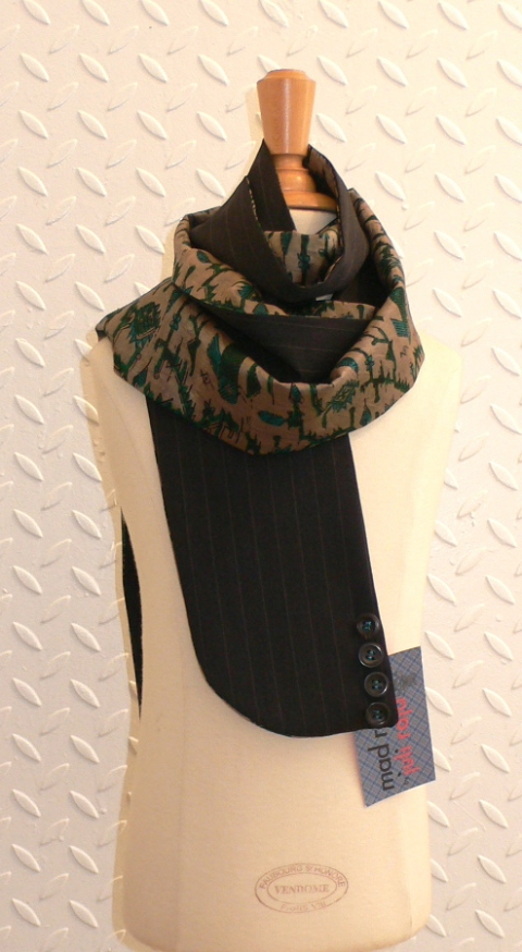 past collections-scarves  Monsieur Maurice