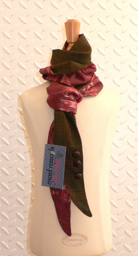 past collections-scarves  Red Skelton