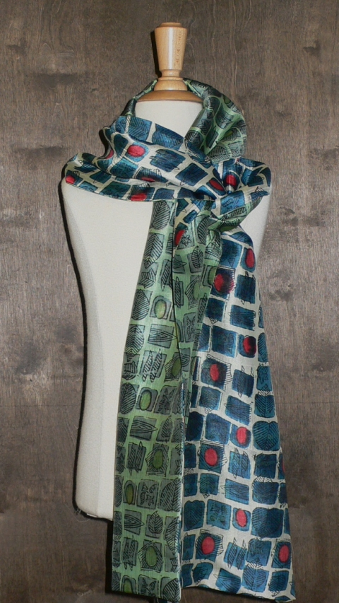 past collections-scarves  Syncopated square