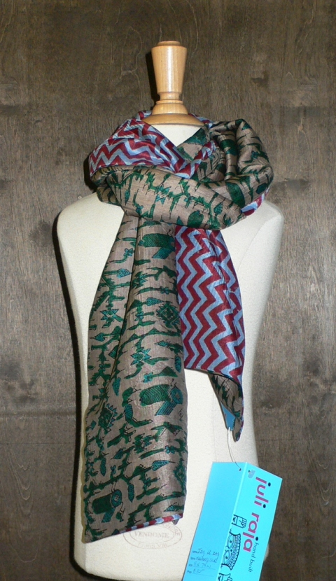 past collections-scarves  I zig U zag