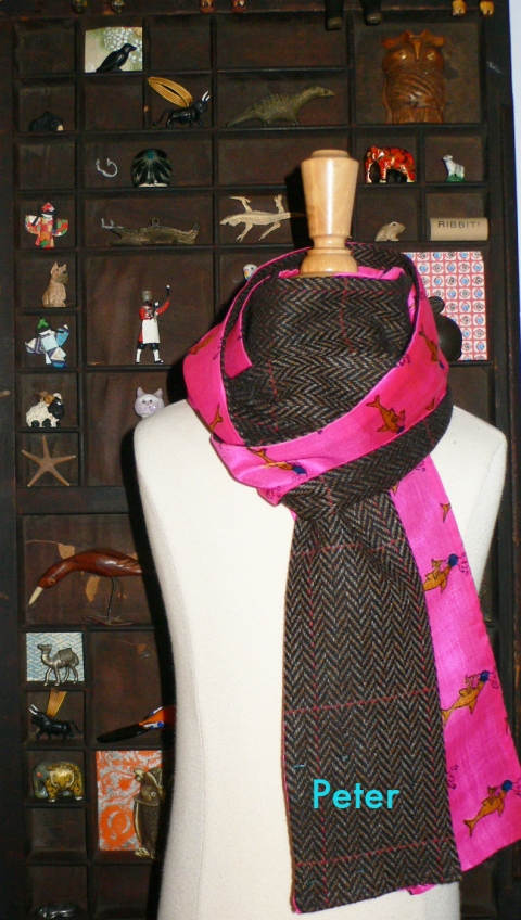 past collections-scarves  Mad Rascal special