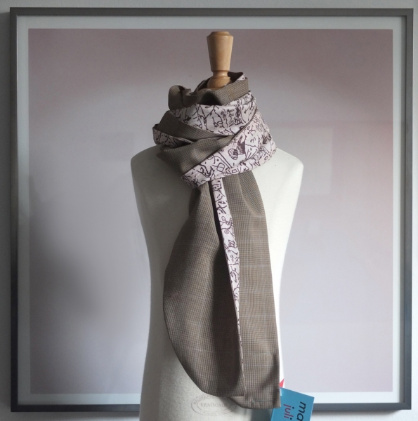 past collections-scarves  Hunt or be Hunted