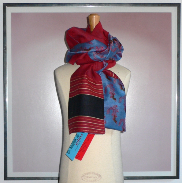 past collections-scarves  aligator debate
