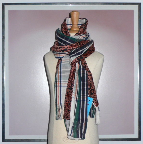 past collections-scarves  machu pichu