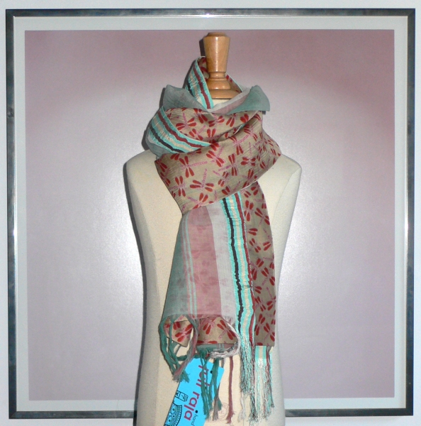 past collections-scarves  burnt dragon
