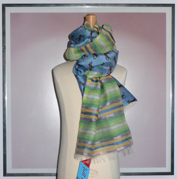 past collections-scarves  flew the coop