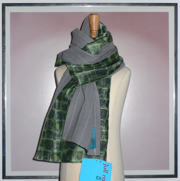 past collections-scarves  green thumb