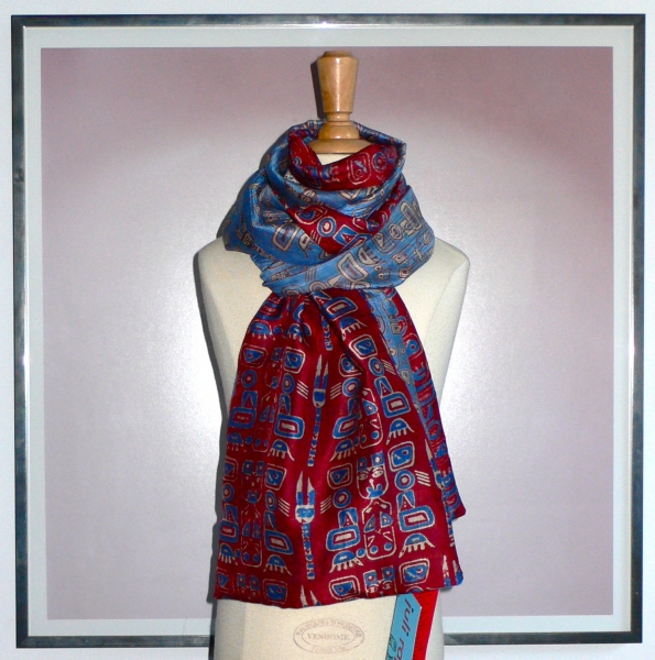 past collections-scarves  mezza meca