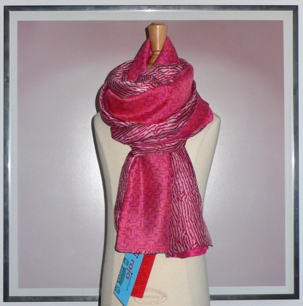 past collections-scarves  pretty in pink
